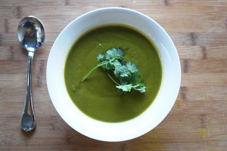 alkaline cleanse soup recipe