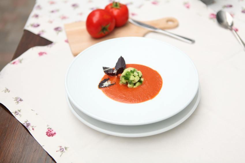 Alkaline diet vegetable soup