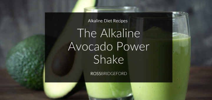 Alkaline Green smoothie