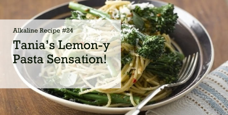 tania's lemon pasta