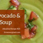 avocado & tomato soup