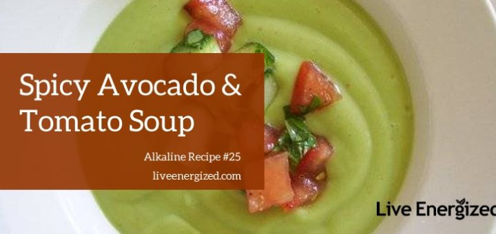 avocado & tomato soup