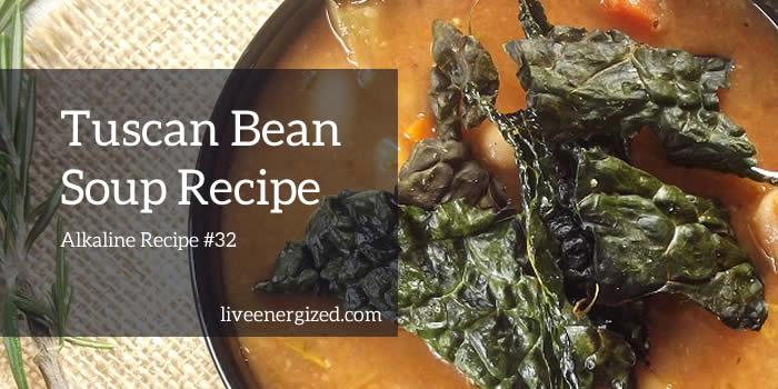 tuscan bean soup image