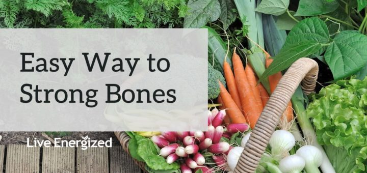easy way to stronger bones