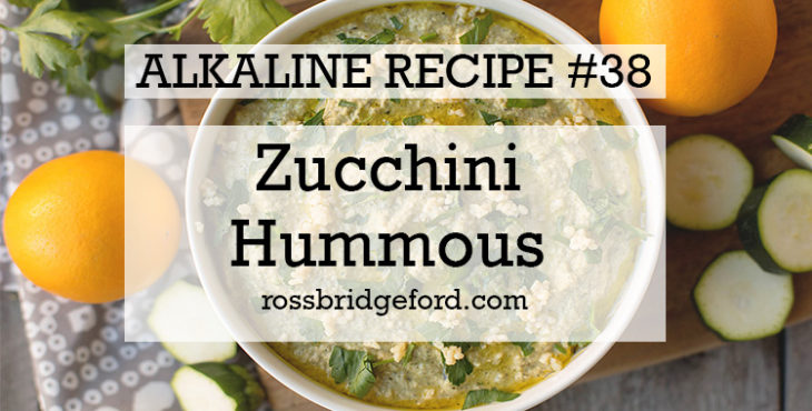 zucchini hummous recipe