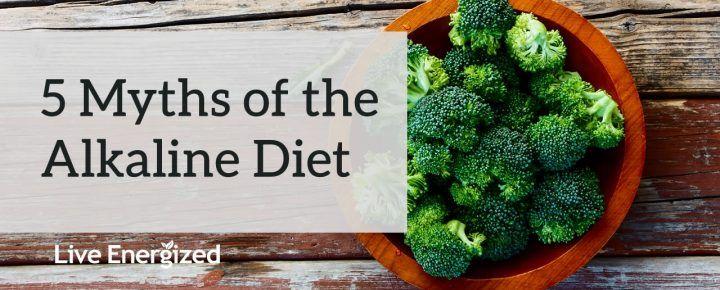 five myths of the alkaline diet