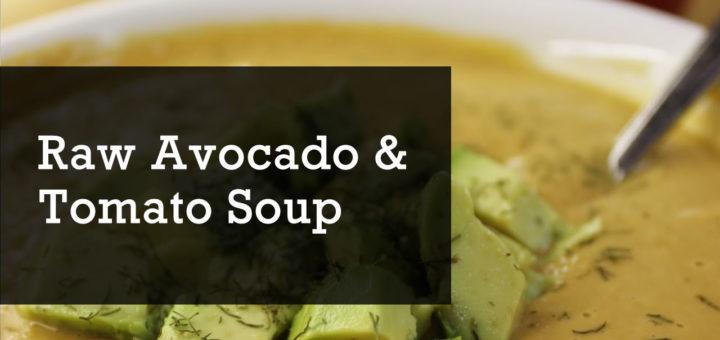 avocado and tomato soup