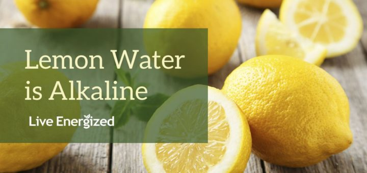 alkaline lemon water