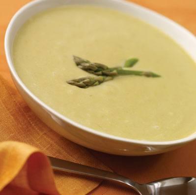 Lemon and Asparagus Soup