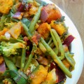 squash greens stir fry