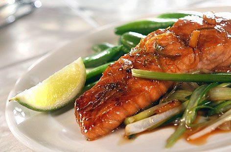 Alkaline Diet Recipe #99: Marinated Salmon Fillet Asian Style - Live ...