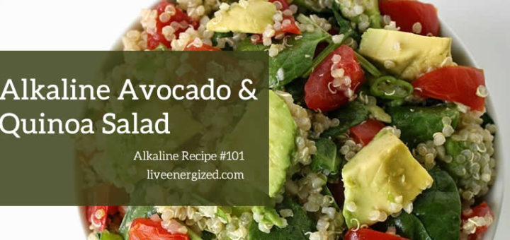 Alkaline recipe avocado quinoa salad gluten free alkaline diet recipe 101 alkaline quinoa salad with avocado forumfinder Images