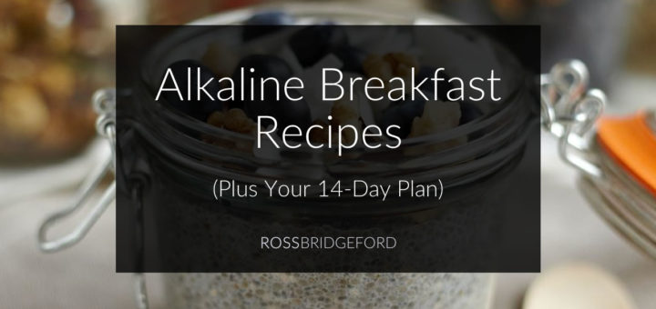 alkaline breakfast recipes
