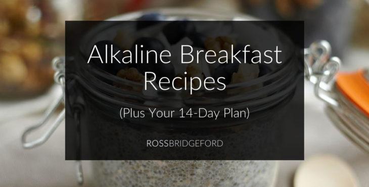 alkaline breakfast recipes