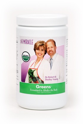 Shop for Miracle Greens in your Alkaline Diet Shopping List