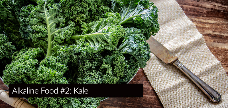 alkaline food kale