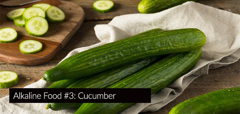 cucumber - the most alkaline foods