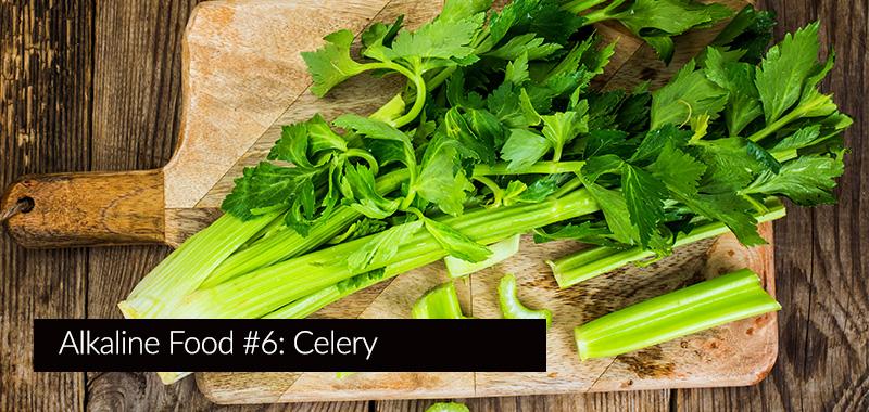 celery is very alkaline