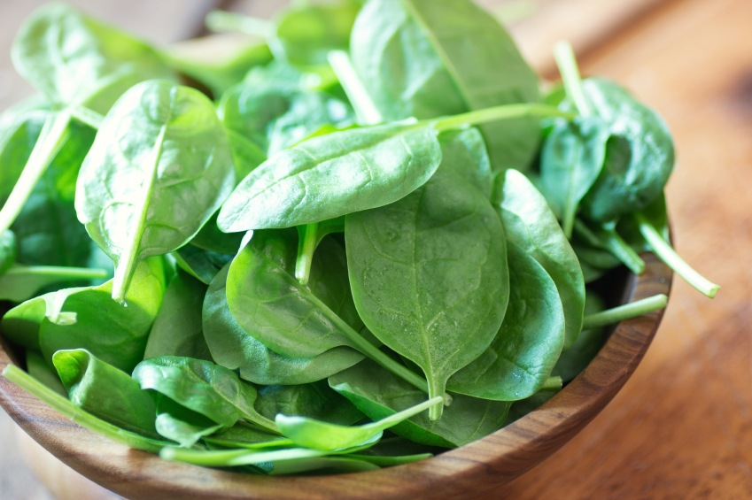 most alkaline foods: #1 spinach