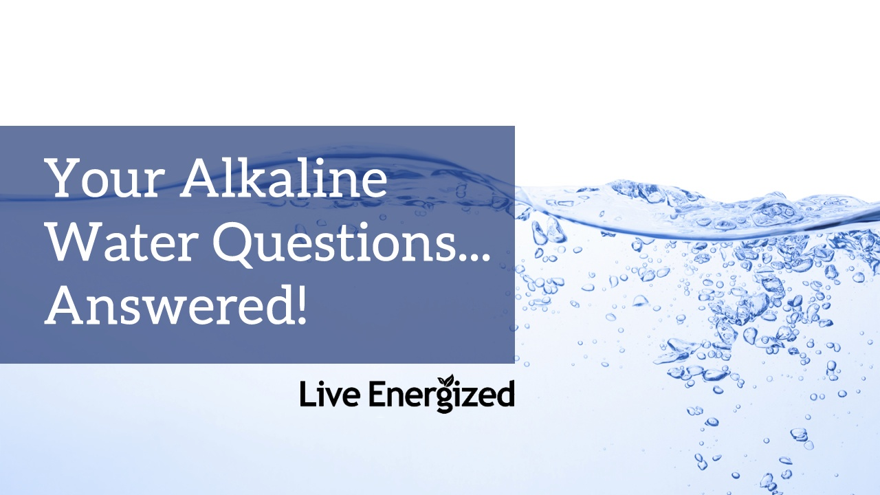 how to drink alkaline water