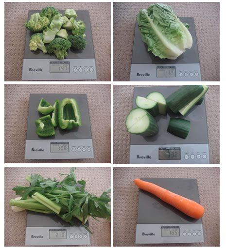 Alkaline Green Drink Foods