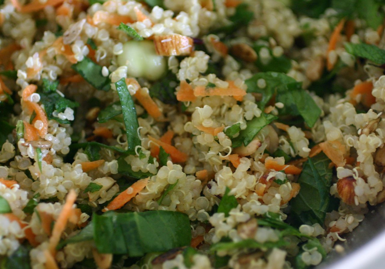 Live Energized Alkaline Recipe: Quinoa Summer Salad