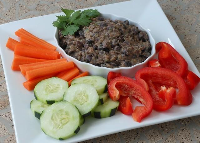 Alkaline Diet Recipe: Black Bean Dip