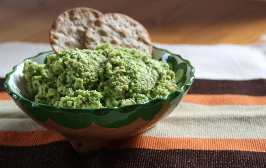 alkaline diet recipe - pea dip