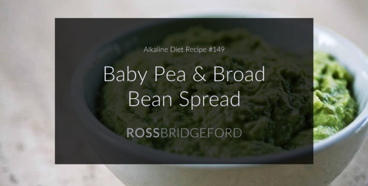 baby pea broad bean dip featured image