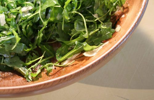 rocket alkaline mint salad