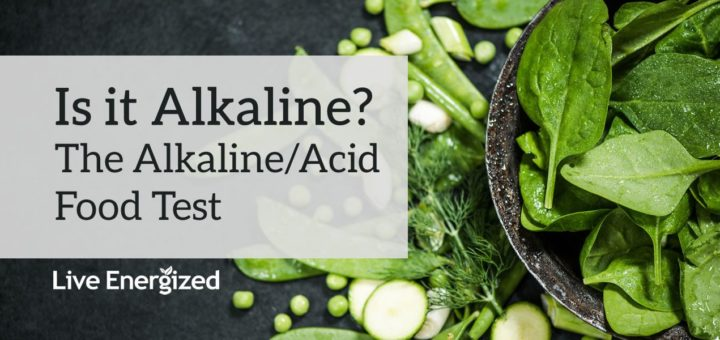 alkaline food test