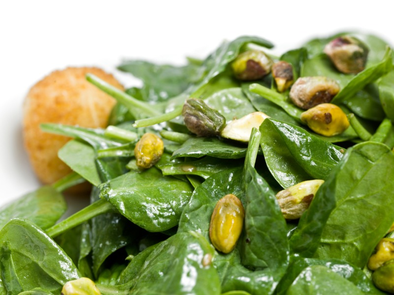fast-spinach-salad