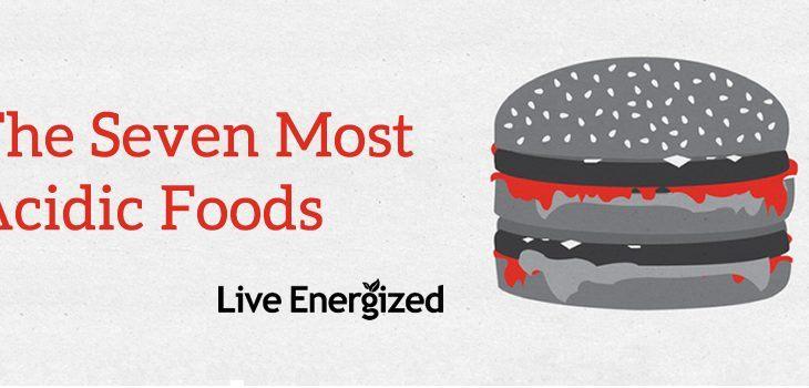 most acidic foods