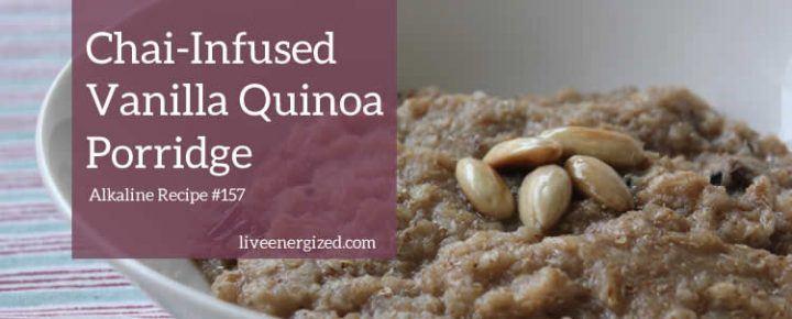 Chai Spice Porridge with Quinoa