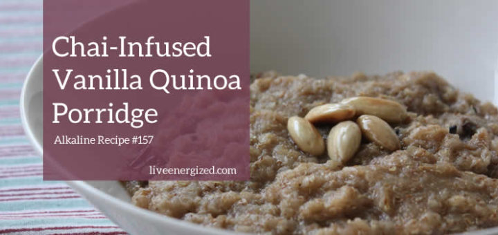Chai Spice Porridge with Quinoa
