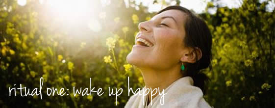 wake up happy