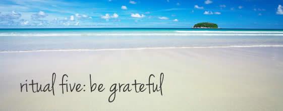 Gratitude and visualisation