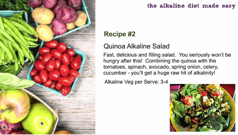 alkaline filling salad