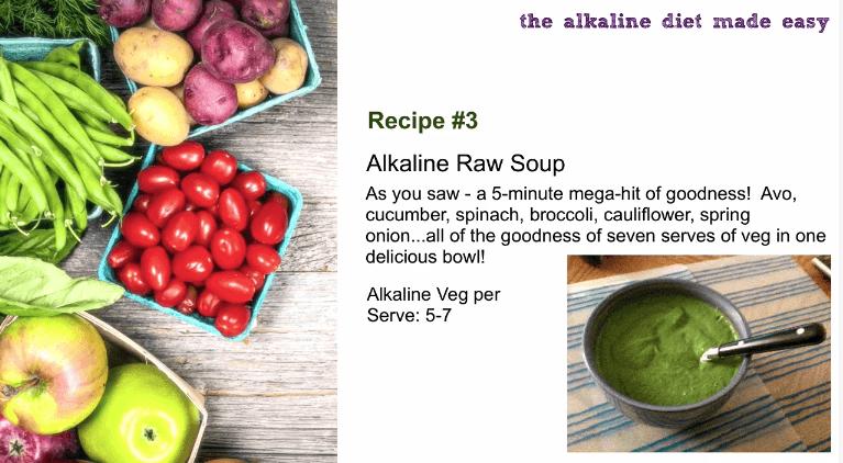 raw soup recipe