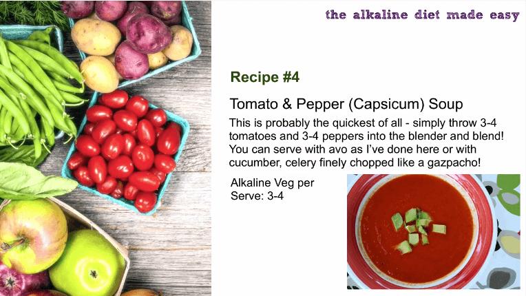 alkaline raw soup recipe