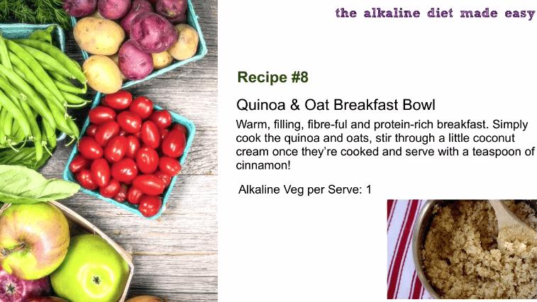 Quinoa and Oat Brekkie