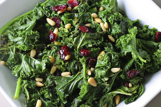 kale guide: sneak kale into salads