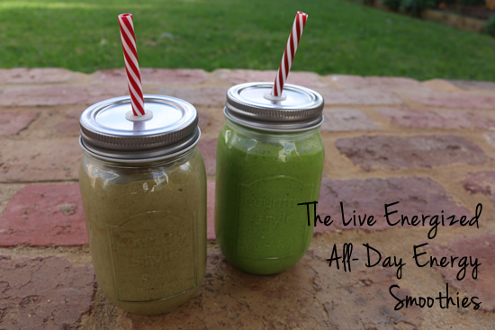 both energy giving alkaline smoothies