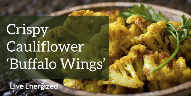 crispy cauliflower buffalo wings