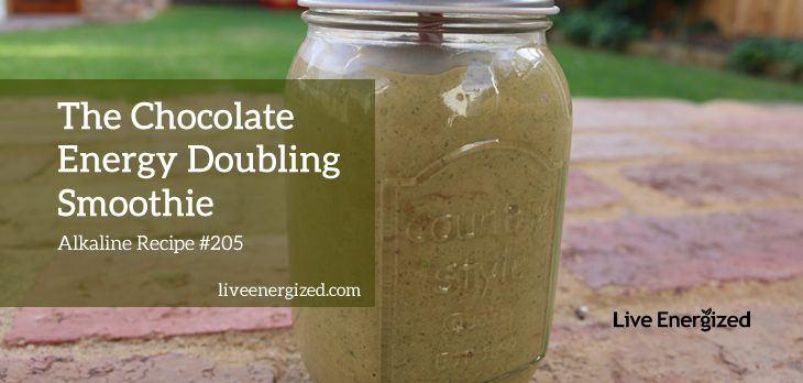 Chocolate Energy Smoothie