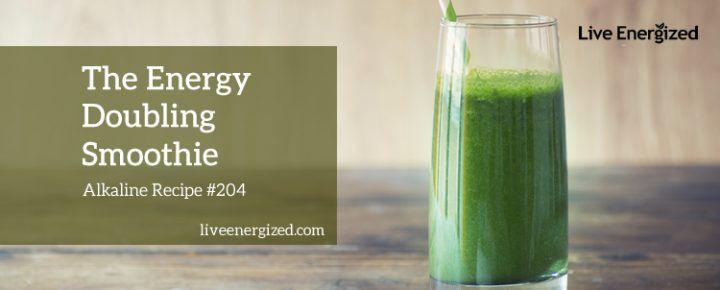 energy doubling smoothie