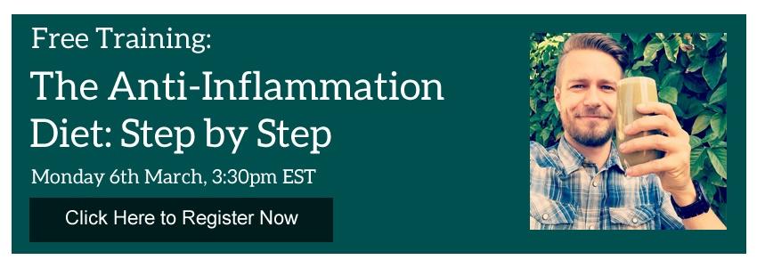 Anti Inflammation Webinar Invite
