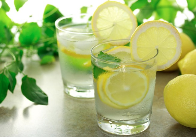 Image result for Lemonade Water