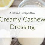 Cashew Dressing Title Image