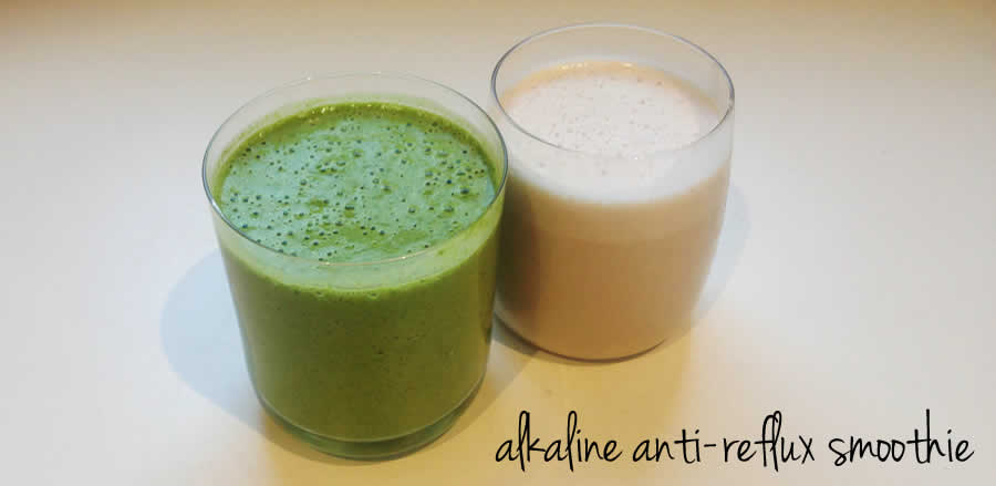 alkaline anti-reflux smoothie